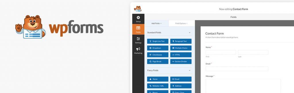 افزونه فرم سازی WPForms