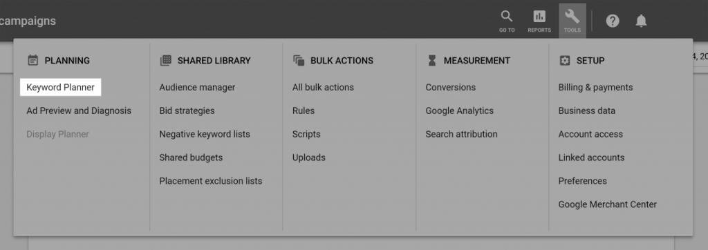 آموزش استخراج عبارات کلیدی با Google Keyword Planner