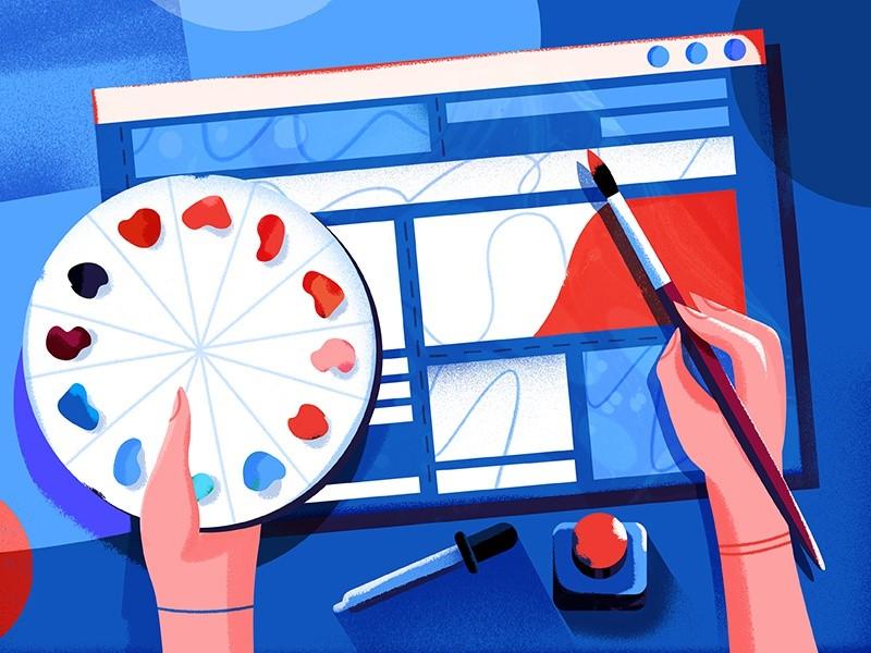 مهارت های مهم طراحی وب